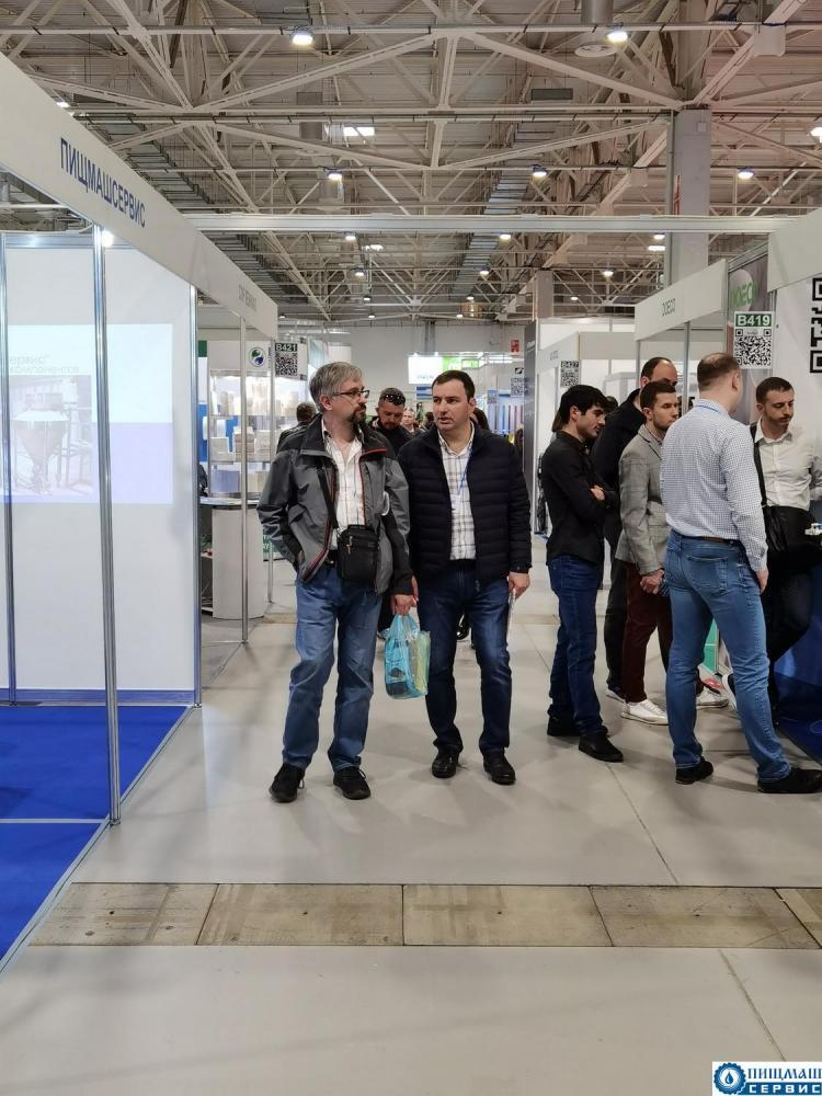 Пищмашсервис на выставке Foodtech Krasnodar 2021